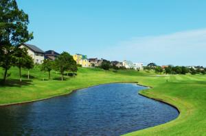 ゴルフコースのある11番ホール