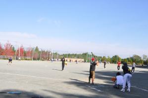 秋にはソフトボール大会も開かれる