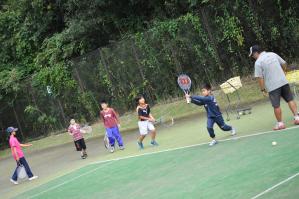 子どもテニスレッスン