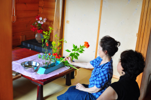 生け花教室DSC_0077©K.ITO