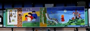 フレッシェルの壁画